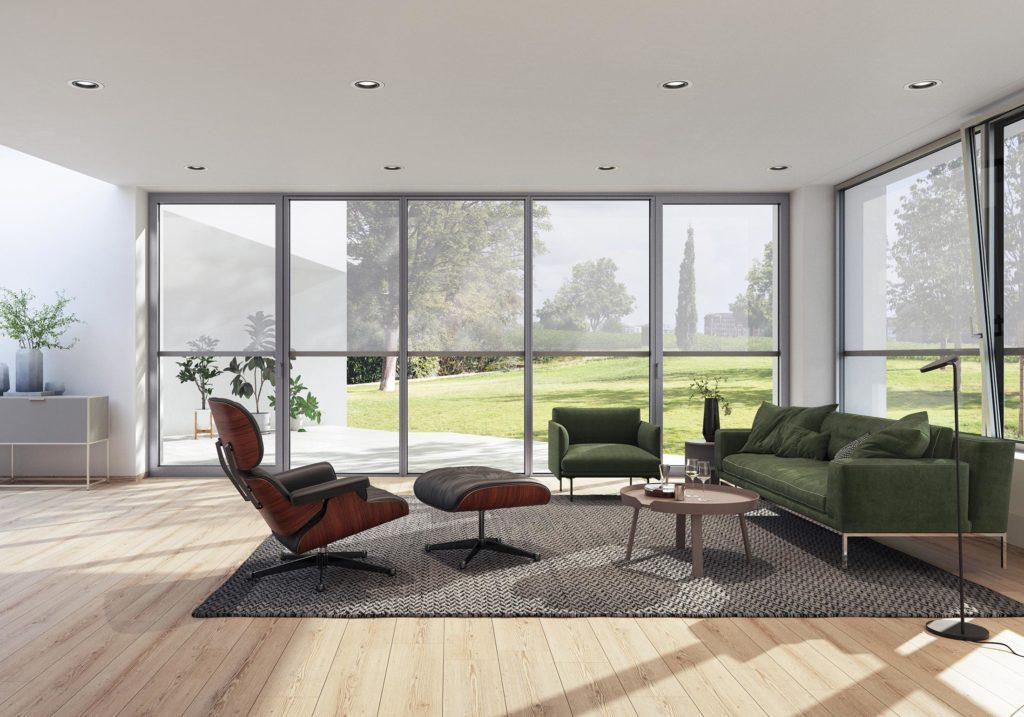 Modernes Haus Fenster