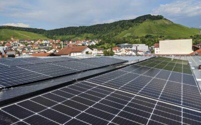 Neue Photovoltaikanlage am Standort Korb